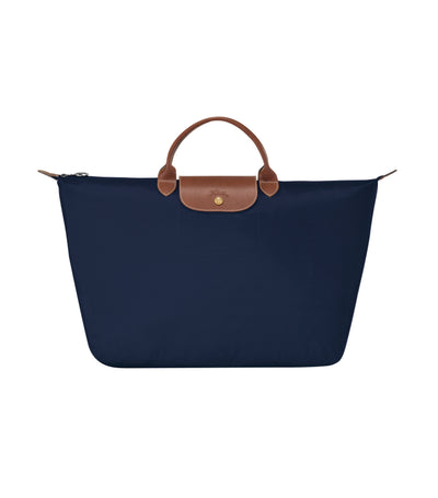 Longchamp Le Pliage Travel Bag L Navy