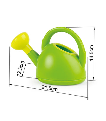 hape watering can - green