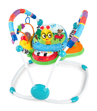 baby einstein neighborhood friends activity jumper with lights and melodies