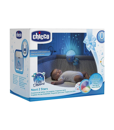 chicco next 2 stars projector - blue