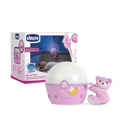 chicco next 2 stars projector - pink