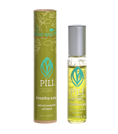 Pili Soothing Breathe Easy Natural Essential Oil Blend  - 6ml