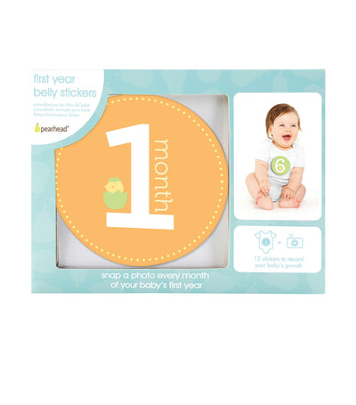 pearhead baby milestone stickers