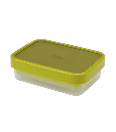 Go Eat Compact 2-in-1 Lunch Box Green