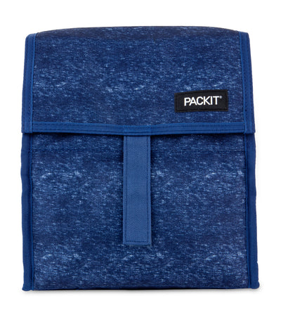 packit freezable lunch bag - navy heather