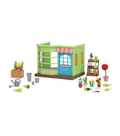 li'l woodzeez li'l blossoms flower shop playset