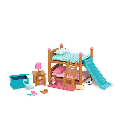 li'l woodzeez bunk bed bedroom set