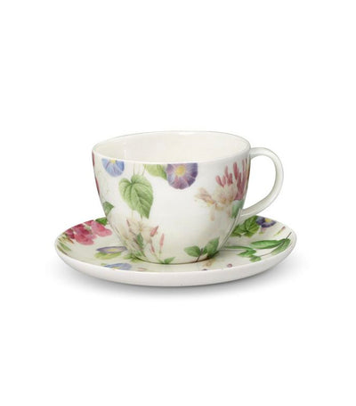 Pfaltzgraff Royal Botanic Garden Redoute Meadow Cup and Saucer Set