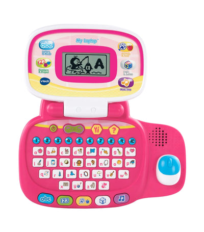 vtech pink my laptop
