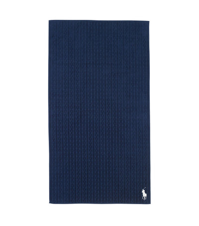 Ralph Lauren Beach Comber Beach Towel - Navy Blue
