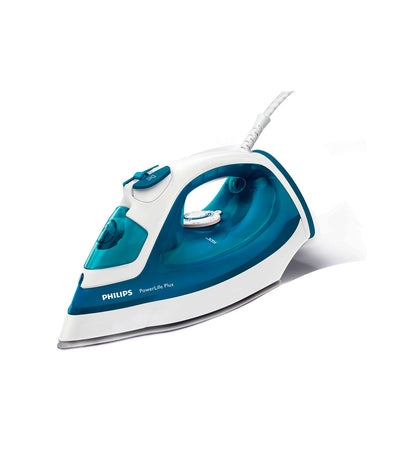 Philips PowerLife Plus Steam Iron in Blue Green