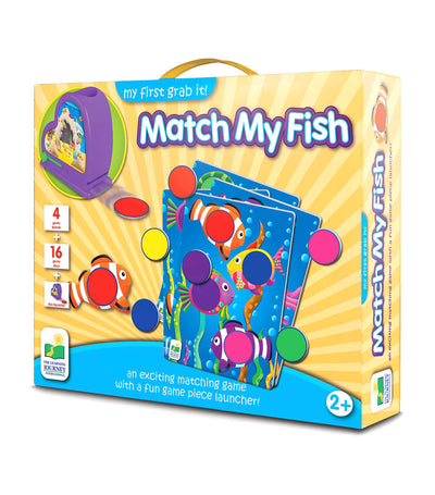 the learning my first grab it! - match my fish