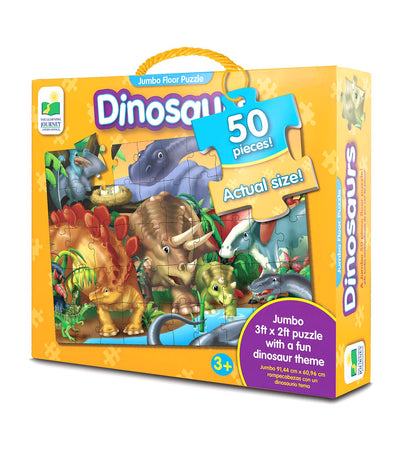 the learning journey jumbo floor puzzle - dinosaurs