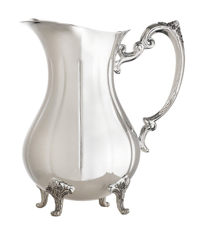 Reed & Barton Burgundy Pitcher with Ice Guard