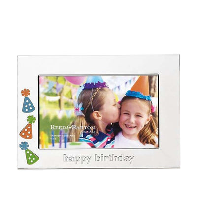Reed & Barton Happy Birthday Picture Frame