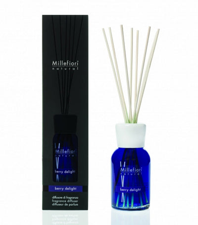 millefiori® natural fragrance diffuser 100ml - berry delight