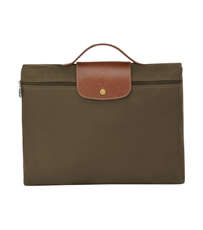Longchamp Le Pliage Document Holder Khaki