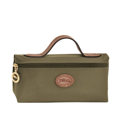 Longchamp Le Pliage Cosmetic Case Khaki