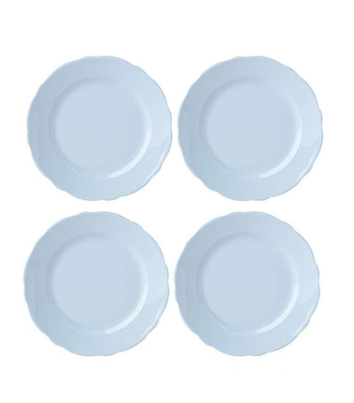 4-Piece Butterfly Meadow Blue Salad Plate Setting