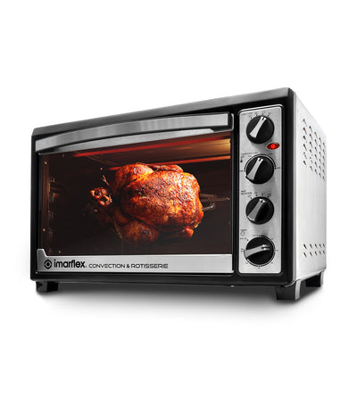 imarflex 3-in-1 convection and rotisserie oven