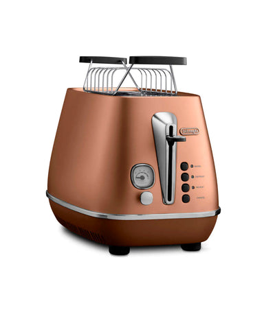 De'Longhi Distinta Toaster in Copper