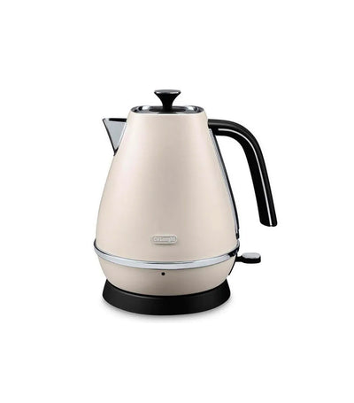 De'Longhi Distinta Kettle in White