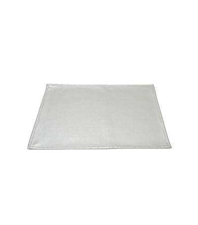 Rustan's Home Leather Placemat in Silver
