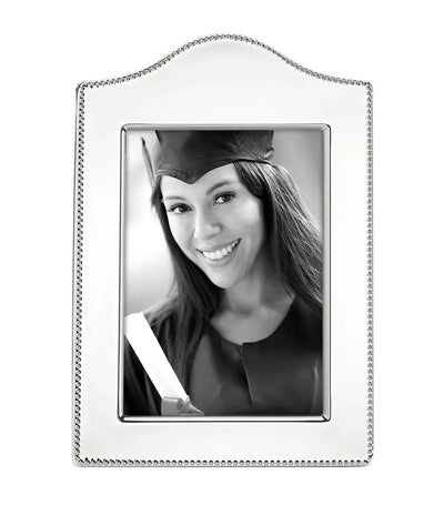 Reed & Barton Lyndon Curved Silverplate Picture Frame - 5in x 7in
