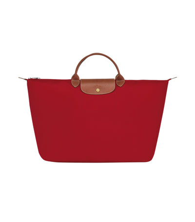 Longchamp Le Pliage Travel Bag L Red