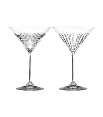 Reed & Barton New Vintage Martini Glass Set of 2