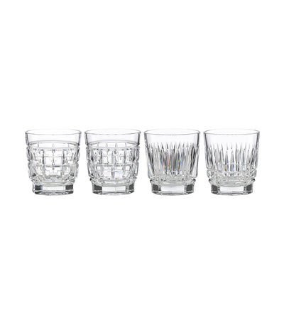 Reed & Barton New Vintage Whiskey Glass Set of 4