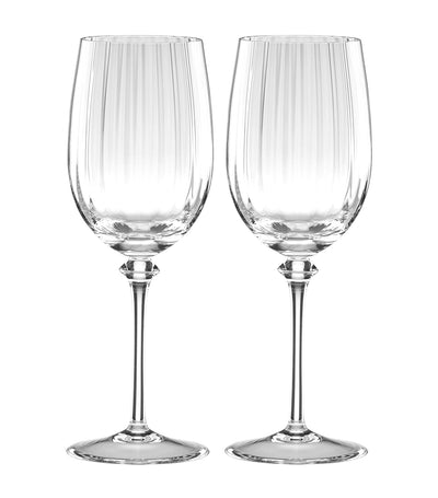 Reed & Barton Austin White Wine Glass Set of 2