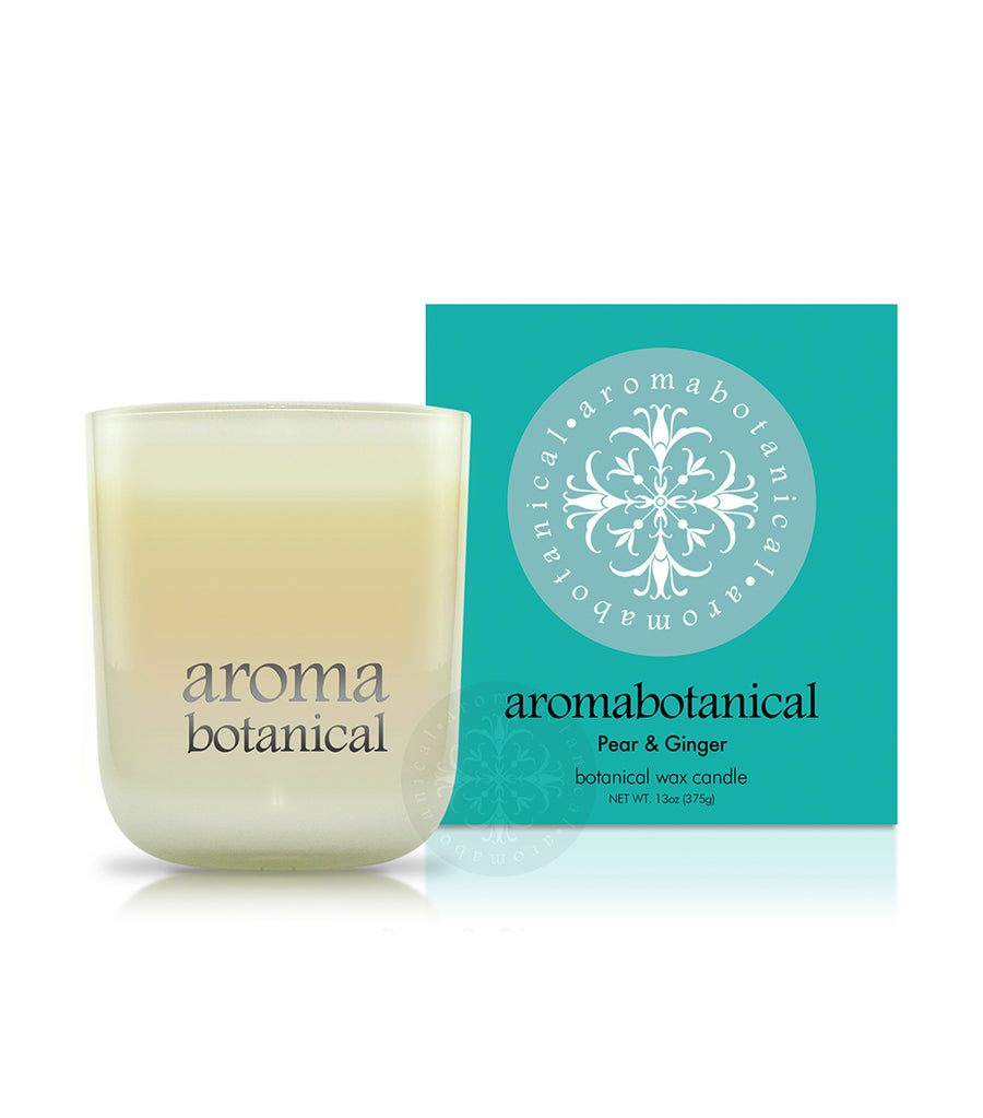 aromabotanical pear & ginger 375g candle