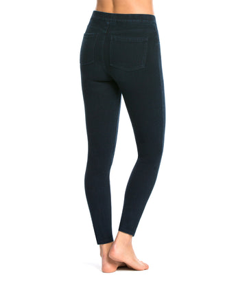 Jean-ish® Ankle Leggings Twilight Rinse
