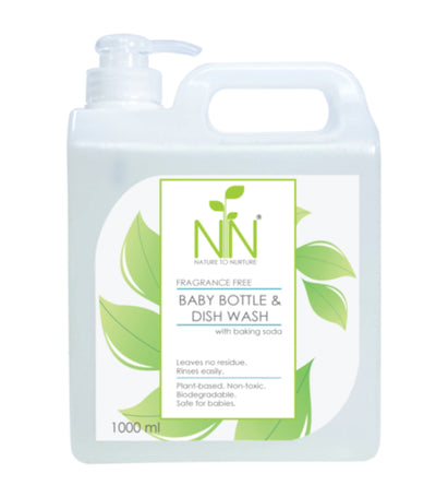 nature to nurture baby bottle and dish wash 1000ml