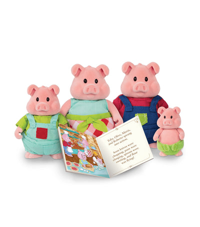 li'l woodzeez pig family set