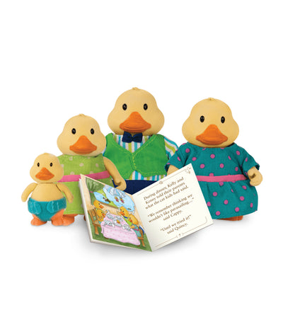li'l woodzeez duck family set