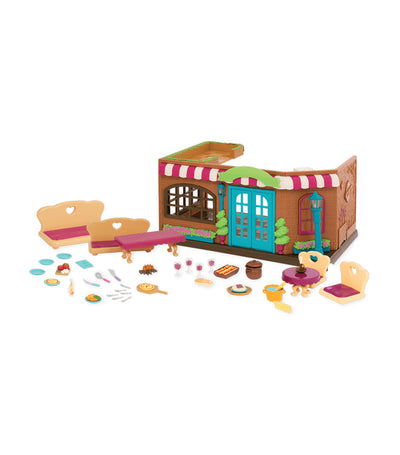 li'l woodzeez pass-the-pasta restaurant playset