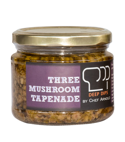 Deep Dips by Chef Arnold Three Mushroom Tapenade - 280g