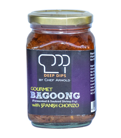 Deep Dips by Chef Arnold Gourmet Bagoong with Spanish Chorizo - 260g