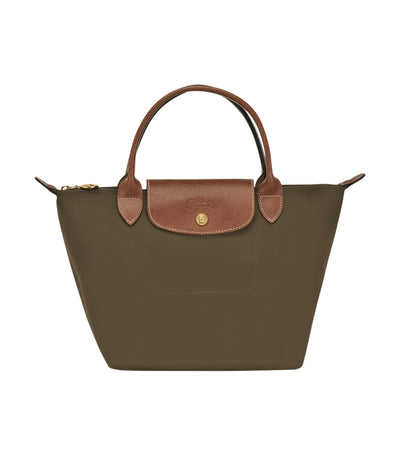 Longchamp Le Pliage Top-Handle S Khaki