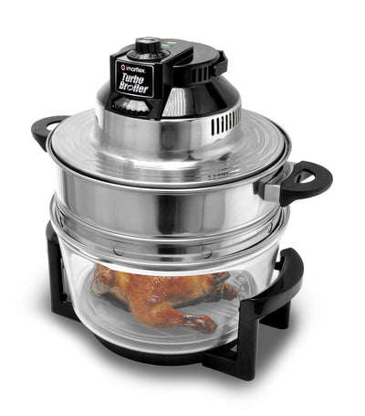 imarflex turbo broiler with tempered glass pot