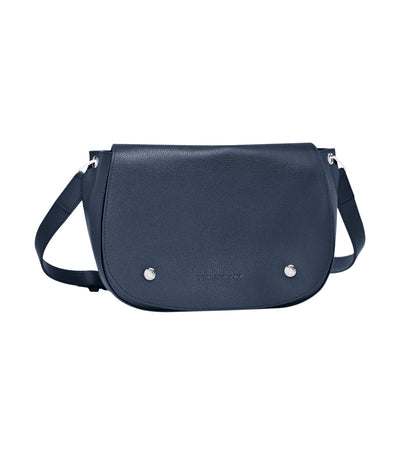 Le Foulonné Hobo Crossbody Bag Navy