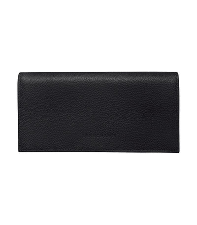 Le Foulonné Long Continental Wallet Black