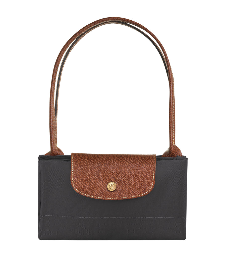 Le Pliage Shoulder Bag S Gunmetal