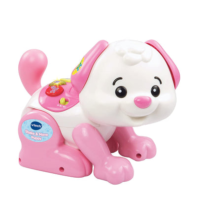 vtech pink shake and move puppy