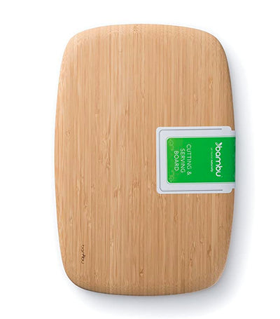 bambu® classic cutting and serving board - medium