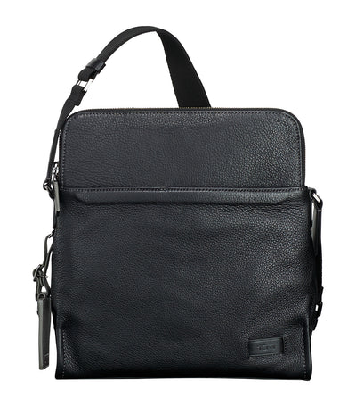 Stratton Crossbody Black Pebbled