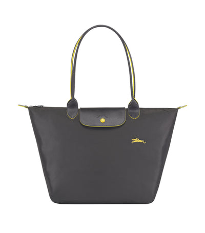 Le Pliage Club Shoulder Bag L Gun Metal