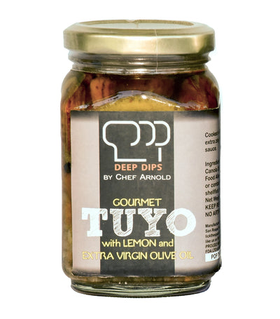 Deep Dips by Chef Arnold Gourmet Tuyo with Lemon - 205g